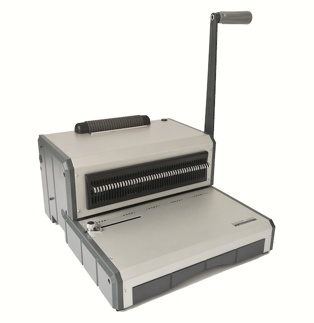 Qupa S470 Plastic Coil Binding Machine